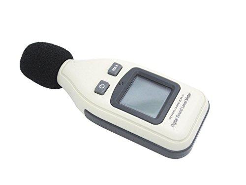 WINPOON Digital Schallpegel 30 -130dB Dezibel Messgerät Schallpegelmessgerät