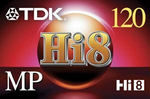 TDK HI 8 Video Tape