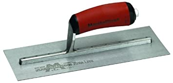 Marshall Town Mxs13D 13In Trowel Red Durasoft Handle Marshalltown Builders and Contractors Tools Hand Tools Plasterers Trowels - Finishing Trowels - Plastering