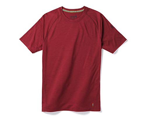 SmartWool Men's Merino 150 Baselayer Short Sleeve Tibetan Red Large