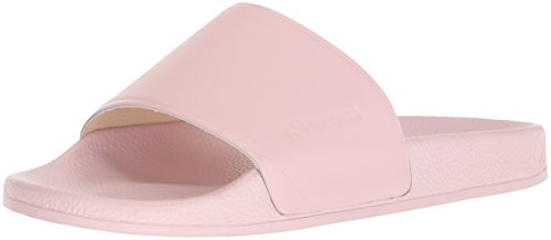 Light Pink Slides - Superga Women's 1914 Fglu Slide Sandal, Light Pink, 41 M EU (9.5 US)