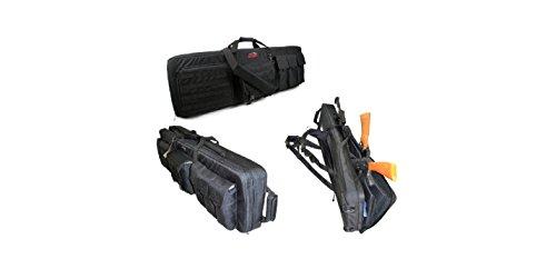 Explorer Rolling 3-Rifle Case, Black, 46 x 13.5 x 4-Inch
