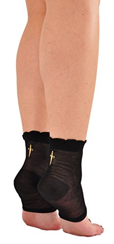 limited-edition-sword-back-egyptian-cotton-toeless-socks-made-in-italy-one-pair-black-with-gold