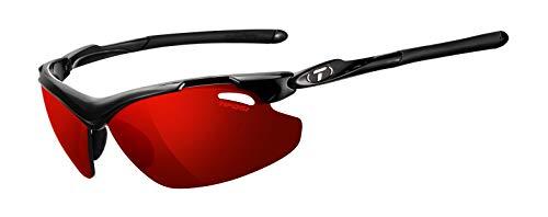 Tifosi Tyrant 2.0 Wrap Sunglasses, Gloss Black, 68 mm