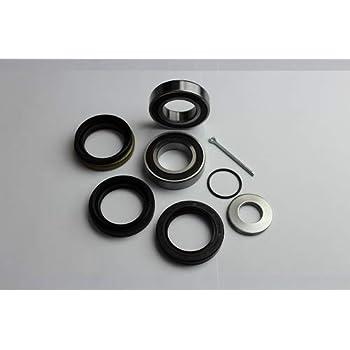 Both Front Wheel Bearing Seal Kits for Yamaha Wolverine 350 450 2x4 4x4