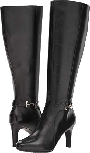 Bandolino Women's LAMARIW Fashion Boot, Black, 8.5 M US