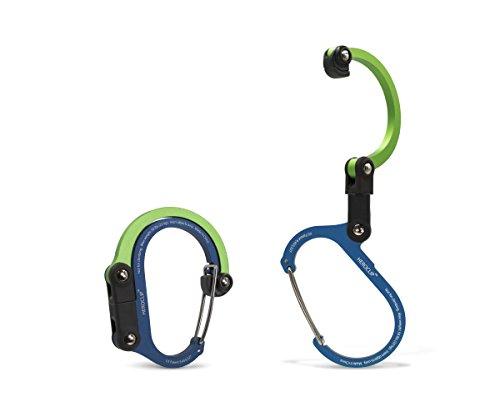 Heroclip 3-in-1 Versatile Swivel Clip for Hanging Travel Accessories Adventure Gadgets Gear Hook