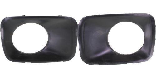 Go-Parts PAIR/SET OE Replacement for 2009-2011 Honda Pilot Fog Lights Trim Left & Right (Driver & Passenger) For Honda Pilot