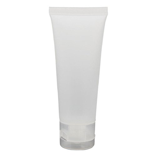 Ikevan Hot Selling Empty Tubes Cosmetic Cream Travel Lotion Containers Bottle (Size 50ML)