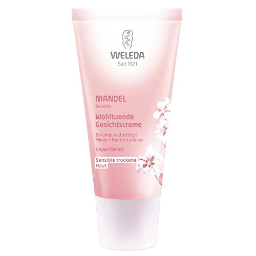 Weleda Soothing Facial Cream, Almond, 1 Fluid Ounce (Best Anti Aging Facial Oil Uk)