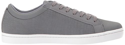 Lacoste Mens Straightset Sp 417 1 Sneaker Grigio Scuro