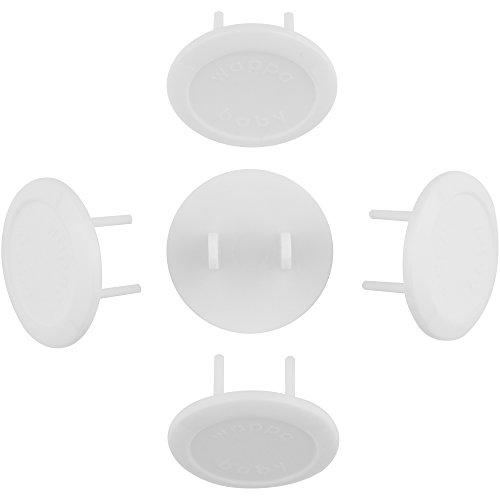 Amazon.com : Protectores Para Enchufes - Seguridad Para Bebes y Niños, 32 Tapones De Seguridad Para Enchufes Electricos (Blanco, 32 piezas) : Baby