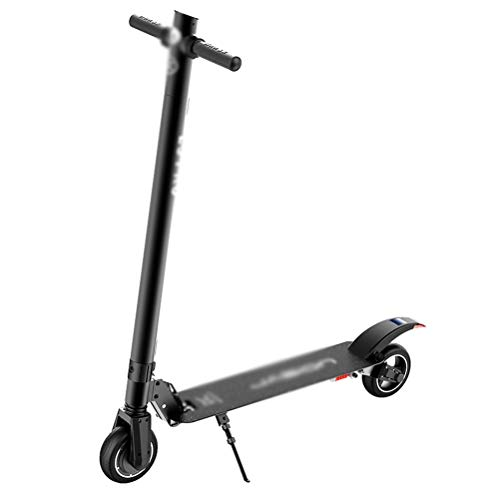 ZCYX Electric Scooter Adult Travel Two Rounds of Collapsible Mini Lithium Battery Scooter On Behalf of Driving -Electric Bicycles261 (Color : Black) ()