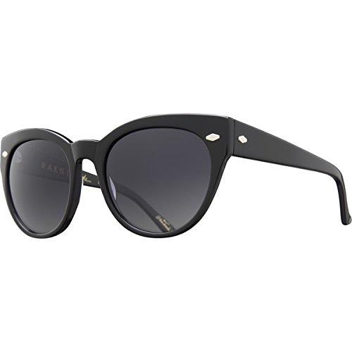 Raen Women's Maude Cateye Sunglasses,Black & Smoke,53.5 - 2014 Sunglasses Trend