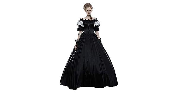 Lookhy - Disfraz de Renacimiento Medieval para Mujer, Vestido ...