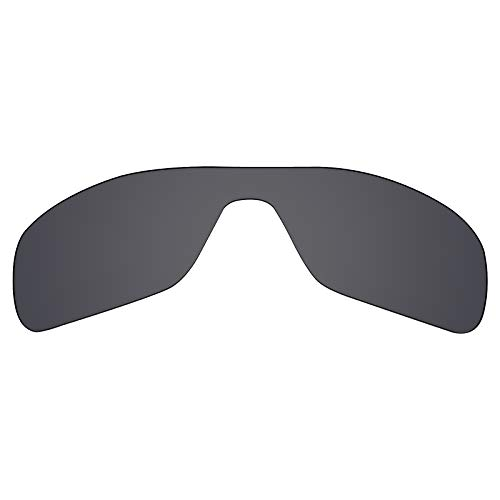 Mryok Polarized Replacement Lenses for Oakley Turbine Rotor - Stealth Black