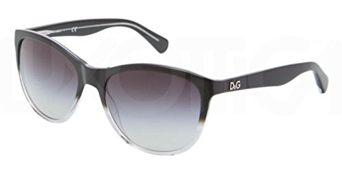 Dolce and Gabbana 3091 26028G Black Gradient 3091 Cats Eyes Sunglasses Lens - Price Dolce Of Gabbana Sunglasses And