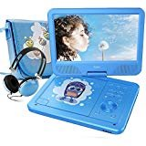 """Best Dvd Player For Kids - FUNAVO 10.5"""" Portable DVD Player with Headphone, Carring Review"""