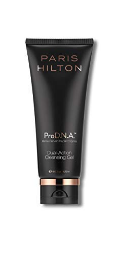 ProDNA Paris Hilton Skincare Dual-Action Deep Cleansing Gel - Facial Wash to Smooth, Soften and Brighten Complexion - Reduce the Appearance of Blackheads, Pores, Blotchiness, Acne, Eczema from ProD.N.A