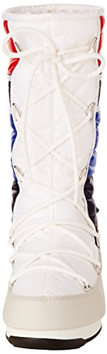 Quilted 24003400003 Moon W Black Gold White Woman Blue E Red Boot UpgqX