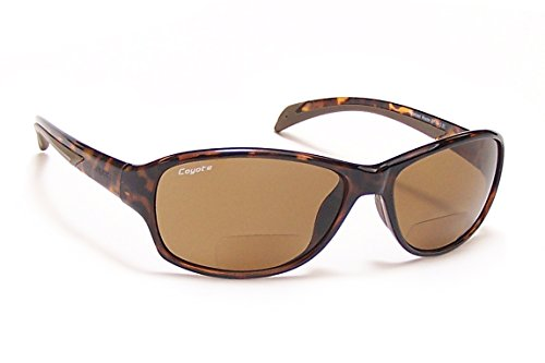 Coyote Eyewear BP-14 Polarized Bi-Focal Reader Sunglasses