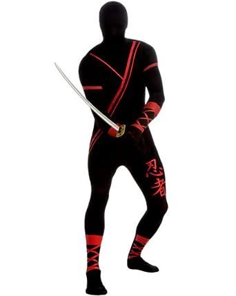 Amazon.com: Ninja 2nd Skin Body Suit Adult Costume - Medium ...
