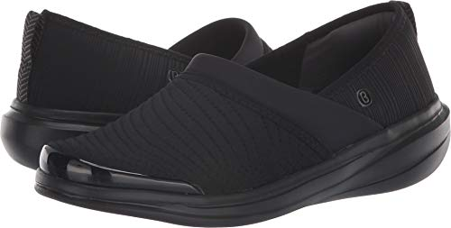 BZees Women's Coco Black Textured Fabric 8 M US M from BZees