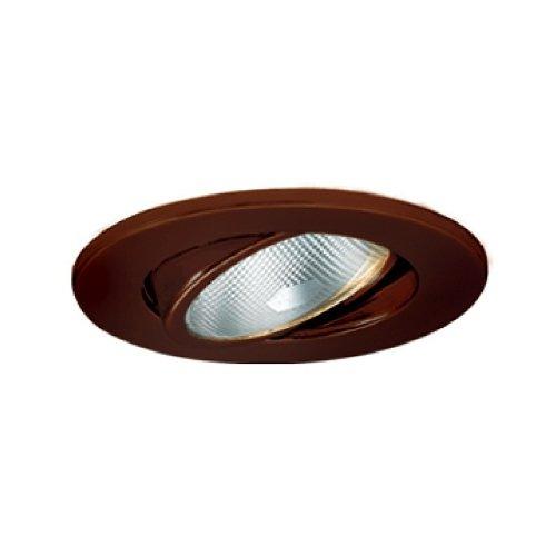 Jesco Lighting TM5503AB 5-Inch Aperture Line Voltage Trim Recessed Light, Adjustable Gimbal Ring, Antique Bronze Finish