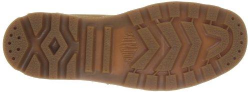 Palladium Pampa Sport Cuff WP2 - Náuticos de cuero hombre marrón - Braun (Amber Gold/Mid Gum)