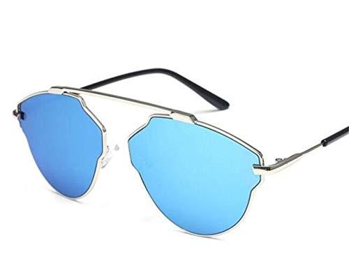 protection cadre lunettes grand blue Lunettes de Sky UV400 FlowerKui unisexes de extérieures protectrices zEd0zqwC