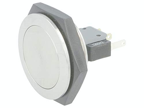 Vandal Resistant Switch, MSM 30 Series, SPDT, Quick Connect, 5 A, 125 V