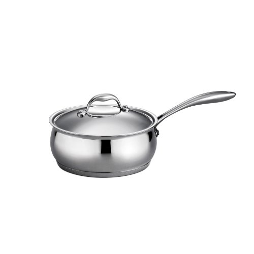 Tramontina 80102/005 3 qt Domus Covered Sauce Pan, 3 Quart
