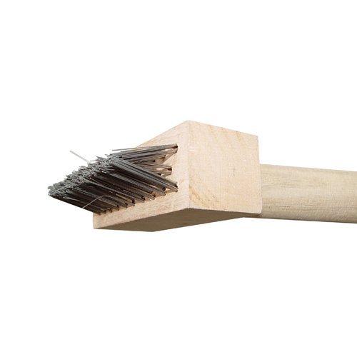 Bon 21-159 Paver Joint Wire Brush with Handle (Patio Brick Paver Maintenance)