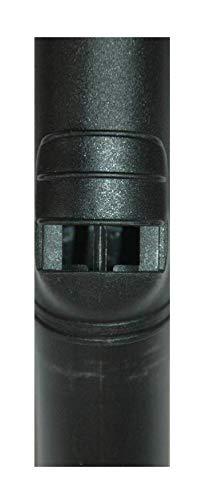 L/änge 7,6m Genialvac Standard-Schlauch-Set f/ür Zentralstaubsauger f/ür Saugdosen 36-38mm
