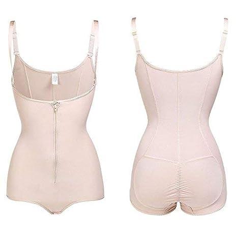 Lover-Beauty Womens Seamless Body Shaper Waist Cincher Tummy Control Bodysuit Slimmer Shapewear