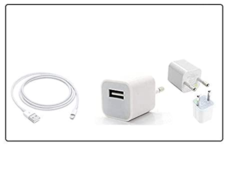 Charger for Apple/iPhones  1 m  Apple MFi Certified for All Models Pack of 5 Wall Chargers