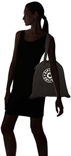 Negro Bolso Mujer Black Kipling 39x43x1 lively Hiphurray Para Cm New Bandolera wEE6q8H