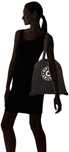 Women's Kipling Hiphurray Tote New Women's Kipling Black Lively Black 1SqwOHxE