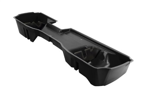 (DU-HA Under Seat Storage Fits 14-17 Chevrolet/GMC Silverado/Sierra Light Duty & Heavy Duty Double Cab, Black, Part #10304)