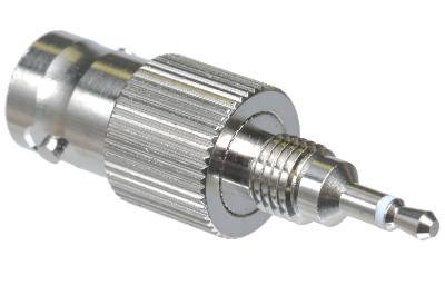 2.5mm Male to BNC Female Adapter - BNC Female to 2.5mm Male Antenna Adapter