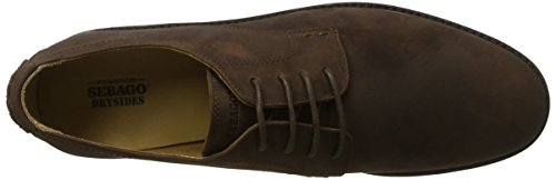 40 Sebago EU Leather Marrone Turner WP Stringate Brown Scarpe Lace Up Derby Uomo Dk p7x6pq