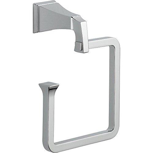Delta Faucet 75146 Dryden Towel Ring, Chrome by DELTA FAUCET