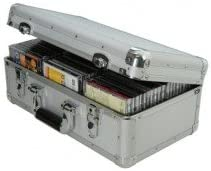 Caja de transporte para AVSL Cd, 60 Cds (aluminio): Amazon.es: Electrónica