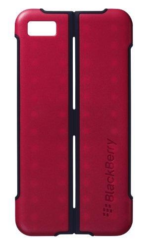 Blackberry Z10 Flip Shell - BlackBerry OEM Transform Ultra-thin Hardshell Case for BlackBerry Z10 - Red