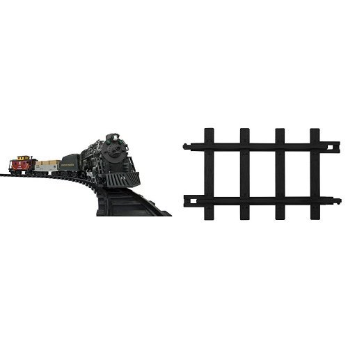 Pennsylvania Flyer Train Set (Lionel Pennsylvania Flyer Ready to Play Train Set and 12-Piece Straight Track Pack)