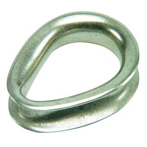 SALE - Ronstan Sailmaker Stainless Steel Thimble - 6mm (1/4'''') Cable Diameter by Ronstan