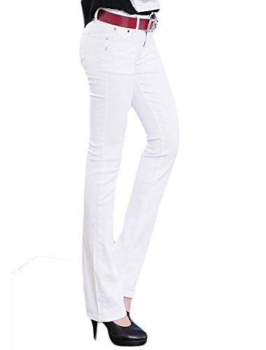 King Ma Womens Fashion stretchy Skinny Bootcut Jean from King Ma