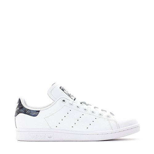 Adidas Women Originals Blue Geology Stan Smith Shoes #BB3009 (7)