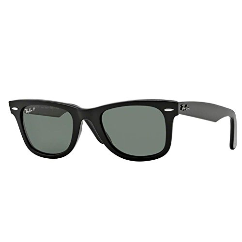 Ray Ban RB2140 Acetate Man Sunglass 901/32 Sunglasses Black Crystal Gray Gradient Frame 50 22 - 50 22 Wayfarer