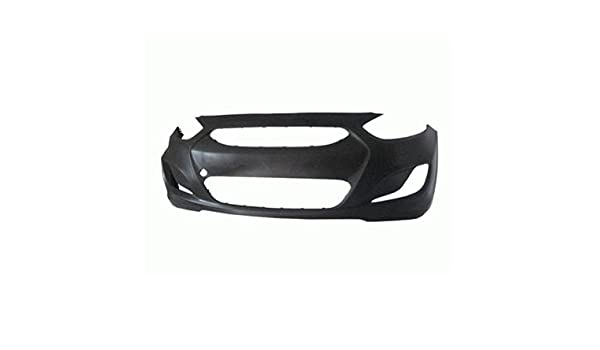 New Front Bumper Cover For Hyundai Accent BLACK